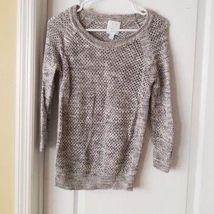 Gray knit sweater NY&Co.
